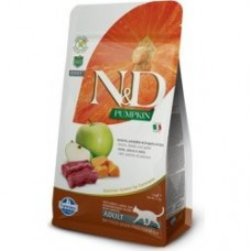 N&D Grain Free Pumpkin CAT Venison & Apple 1,5kg