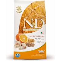 N&D Low Grain CAT Ocean Adult Codfish & Orange 1,5kg