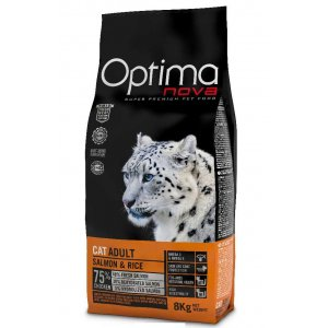 OPTIMAnova CAT ADULT SALMON 400g