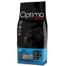 OPTIMAnova CAT LIGHT CHICKEN & RICE 2kg