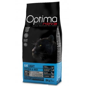 OPTIMAnova CAT LIGHT CHICKEN & RICE 400g
