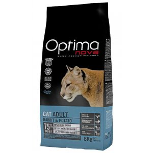 OPTIMAnova CAT RABBIT GRAIN FREE 2kg