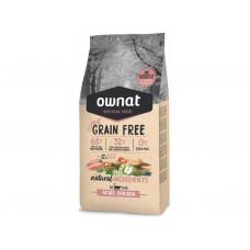 OWNAT Cat JUST GRAIN FREE Adult Chicken 1kg