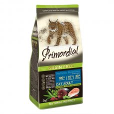 Primordial Grain-Free Cat Adult Salmon & Tuna 2kg