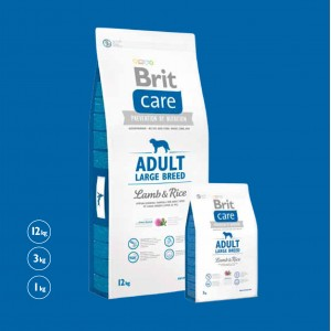 Brit Care Dog Adult Large Breed Lamb & Rice 3kg