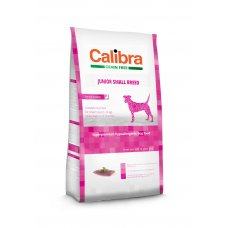 Calibra Dog Grain Free Junior Small Breed / Duck & Potato 2 kg NEW