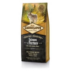 Carnilove Dog Salmon & Turkey for Large Breed Adult NEW 1,5kg