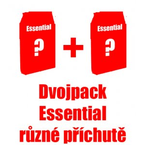 Essential Foods výhodný dvojpack - zvolte příchuť + DOPRAVA ZDARMA