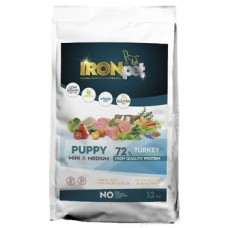 IRONpet TURKEY Puppy Mini & Medium 12kg