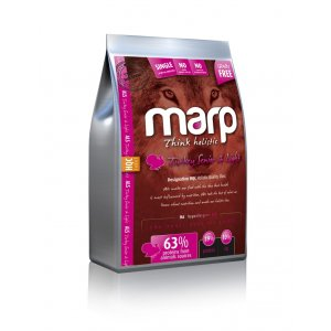 Marp Dog Holistic Turkey S&L - Krůtí Senior & Light bez obilovin 2kg