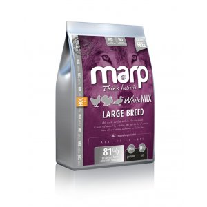 Marp Dog Holistic White Mix LB - pro velká plemena bez obilovin 2kg