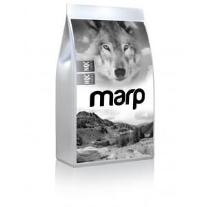 Marp Dog Natural Senior and Light - s bílou rybou 18kg