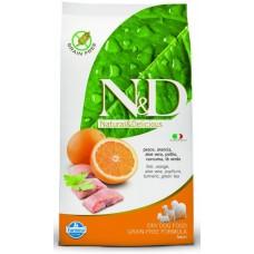 N&D DOG Ocean Adult M/L Herring & Orange 2,5kg