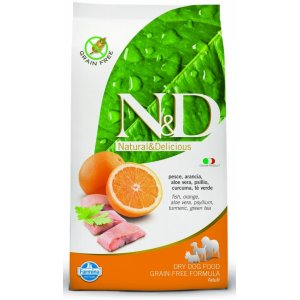 N&D DOG Ocean Adult M/L Herring & Orange 2,5kg