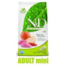 N&D Grain Free DOG Adult Mini Boar & Apple 2,5kg (Divočák s jablky)