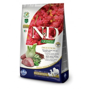 N&D Grain Free Quinoa DOG Digestion Lamb & Fennel 2,5kg