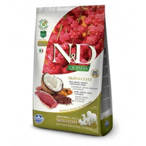 N&D Grain Free Quinoa DOG Skin&Coat Duck & Coconut 2,5kg