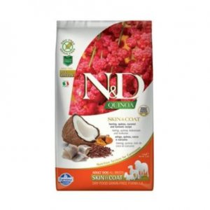 N&D Grain Free Quinoa DOG Skin&Coat Herring & Coconut 7kg