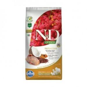 N&D Grain Free Quinoa DOG Skin&Coat Quail & Coconut 7kg