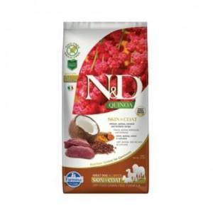N&D Grain Free Quinoa DOG Skin&Coat Venison & Coconut 800g