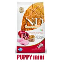 N&D Low Grain DOG Puppy Mini Chicken & Pomegranate 2,5kg (kuře + granátové jablko)