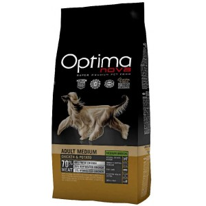 OPTIMAnova dog ADULT MEDIUM GRAIN FREE Chicken 12kg