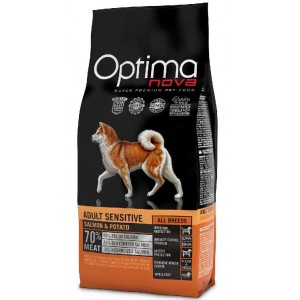 OPTIMAnova dog ADULT SENSITIVE GRAIN FREE Salmon 2kg