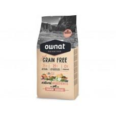 OWNAT Dog JUST GRAIN FREE Salmon&Seafood 14kg
