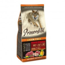 Primordial Grain-Free Adult Buffalo & Mackerel 12kg