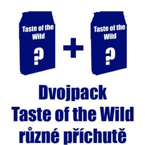 Taste of the Wild výhodný dvojpack - zvolte si příchutě + DOPRAVA ZDARMA!!!