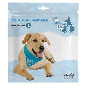 Coolpets BANDANA - chladící šátek L 60x60cm