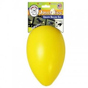 Jolly Egg 20 cm - vajíčko žluté/S