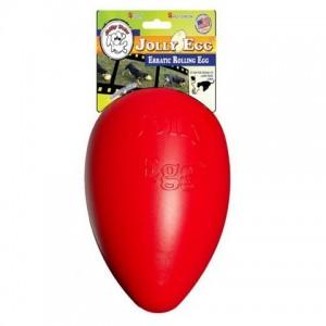 Jolly Egg 30 cm - vajíčko červené/L