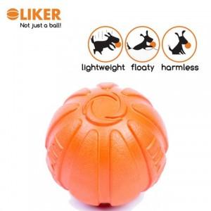 Míček pro psy LIKER z odolného materiálu 7cm