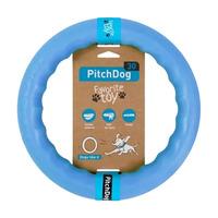 PitchDog - kroužek pro psy modrý 20cm