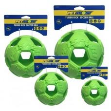 Turbo Kick Soccer Ball 15 cm - fotbalový míč pro psy, zelený