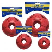 Turbo Kick Soccer Ball 20 cm - fotbalový míč pro psy, červený