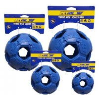 Turbo Kick Soccer Ball 15 cm - fotbalový míč pro psy, modrý