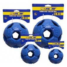 Turbo Kick Soccer Ball 10 cm - fotbalový míč pro psy, modrý