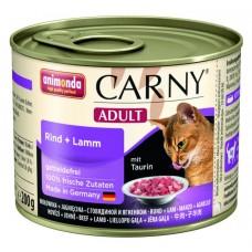 Animonda konzerva kočka Adult hovězí/jehněčí 200g