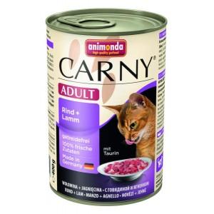 Animonda konzerva kočka Adult hovězí/jehněčí 400g