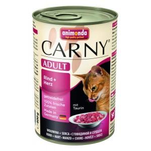 Animonda konzerva kočka Adult hovězí srdce 400g
