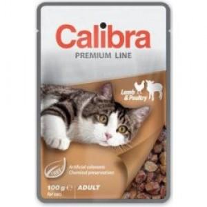 Calibra Cat kapsa Premium Adult Lamb & Poultry 100g