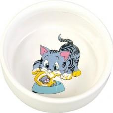 Miska keramická kočka s motivem 0,3l /11cm