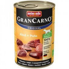 Animonda GRANCARNO konzerva ADULT hovězí/krůta 400g