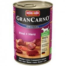 Animonda GRANCARNO konzerva ADULT hovězí/srdce 400g