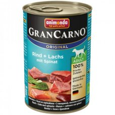 Animonda GRANCARNO konzerva ADULT losos/špenát 400g