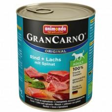 Animonda GRANCARNO konzerva ADULT losos/špenát 800g