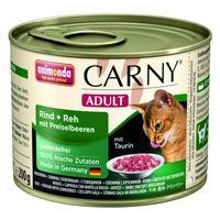 Animonda konzerva CARNY Adult hovězí, srnčí,brusinky 200g