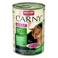 Animonda konzerva CARNY Adult hovězí, srnčí,brusinky 400g